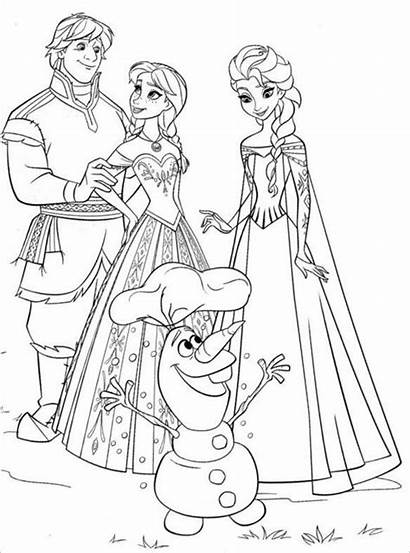 Coloring Crayola Frozen Disney Pages Colouring Templates