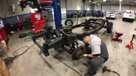 toyota tacoma frame replacement youtube