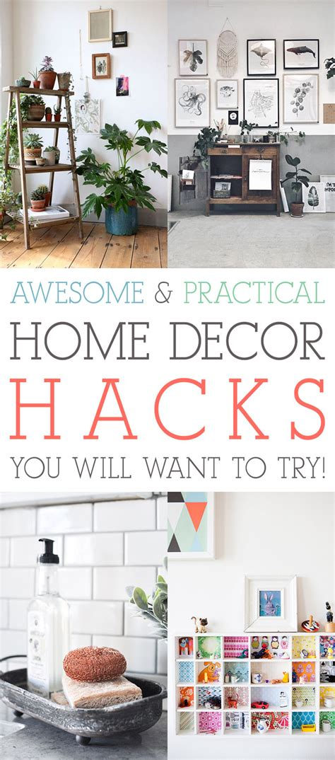 Awesome Home Decor - awesome and practical home decor hacks you will want to
