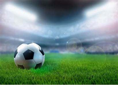 Soccer Field Filed Ensure Advertisement