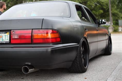 lexus black paint shooting the ls400 with satin black paint clublexus