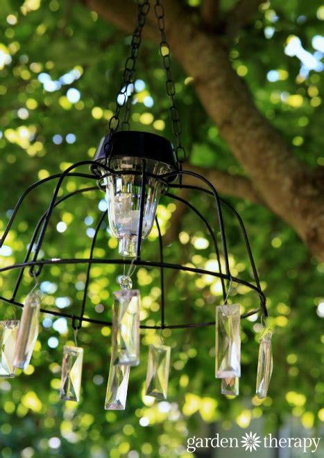 Fairy Light Project Diy Solar Light Chandelier