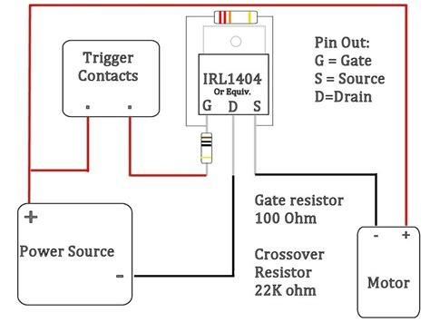 Mosfet Wiring Diagram Image