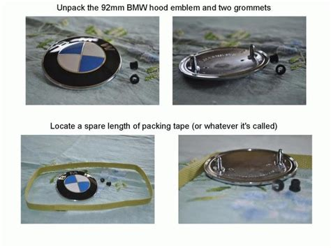 How To Remove Bmw Emblems