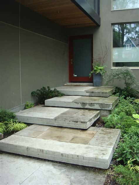 Excellent Front Door + Steps  Outside Home Style