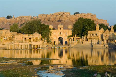 Gadi Sagar Gate stock image. Image of fortification ...