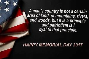 60+ Happy Memorial Day 2018 Quotes to Honor Military