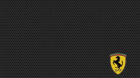 Black Carbon Fiber Wallpaper Hd, Ferrari Logo Wallpaper