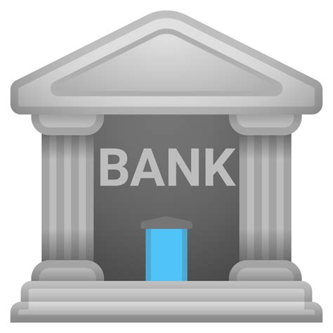 Bank Icon Bank Icon Noto Emoji Travel Places Iconset Google