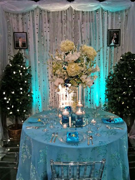 ca wedding colour themes blue
