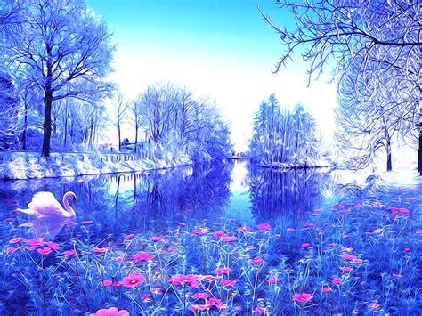 Blue Magical Wallpaper Hd by Magical Wallpaper Images Wallpapersafari