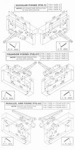 Briton 1003 Door Closer Fitting Instructions
