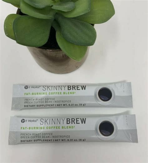 All that you have to do is. It Works Skinny Brew Fat-burning Coffee Blend 2 Single Packets TRY IT PACKETS   eBay