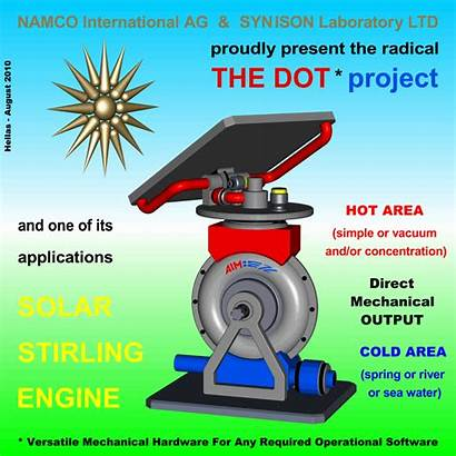 Project Stirling Engine Dot Solar Engines Application