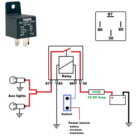 wiring diagram relay wiring diagram how relays work and