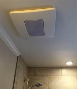 Installing an exhaust fan during a bathroom remodel for Who installs bathroom exhaust fans