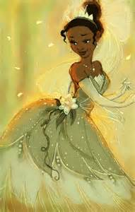 Tiana Princess and the Frog Art