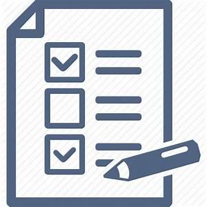 Audit, checklist, education, exam, schedule, school test ...