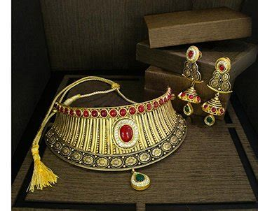 kalyan jewellers buy  gold diamonds necklace