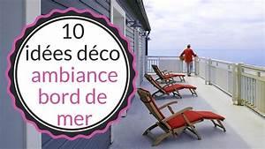 Deco Chambre Bord De Mer : id es d co 10 d co marines pour une ambiance bord de mer video sur ~ Teatrodelosmanantiales.com Idées de Décoration