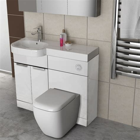 toilet and sink combination unit gravity combination vanity unit white and basin buy online