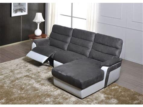 canapé d angle relax electrique canapé d 39 angle droit relax electrique biaritz aruba gris
