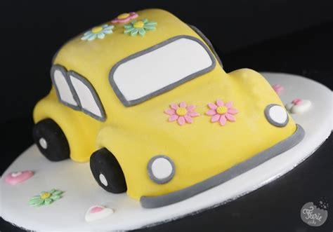 Gateau Pate A Sucre Voiture g 226 teau 3d voiture coccinelle f 233 erie cake