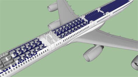 Airbus A340 Interior Lufthansa