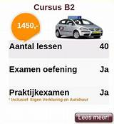 prijzen rijlessen rijbewijs b