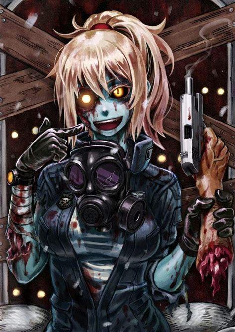 zombie anime girl anime amino