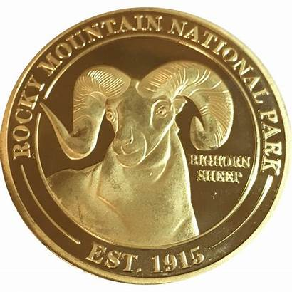 Coin Ram Conservancy Adult Rmnp Collectible Collectables