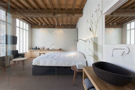 rustic modern bedrooms modern rustic inspiration from belgium features exposed ceilings