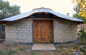 build   yurt  papercrete diy mother earth news
