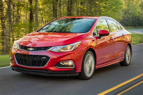 2016 Chevrolet Cruze Sedan Pricing