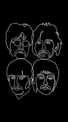 421 Best Beatles Caricatures images in 2020   Beatles art