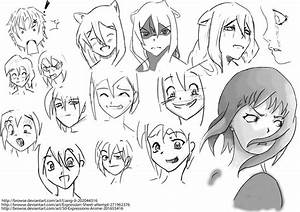 Facial Expressions by Saraghtera on DeviantArt