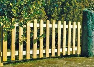 Cloture Jardin Bois : cl ture de jardin pas ch re originale et design ~ Premium-room.com Idées de Décoration