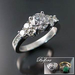 1000 images about new life in old rings on pinterest for Wedding ring redesign ideas