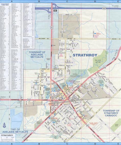 Map of Strathroy