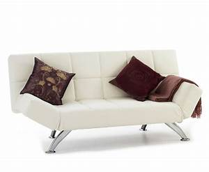 venice 4ft orchid white faux leather sofa bed just 4ft beds With 5 foot sofa bed