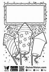 Quiver Coloring Quivervision Jonathan David Kleurplaat Printable Oud Nieuw Ambassador Jones Meestersander Creative Augmented King Vuurwerk Becomes Kleurplaten Apps Mewarna09 sketch template
