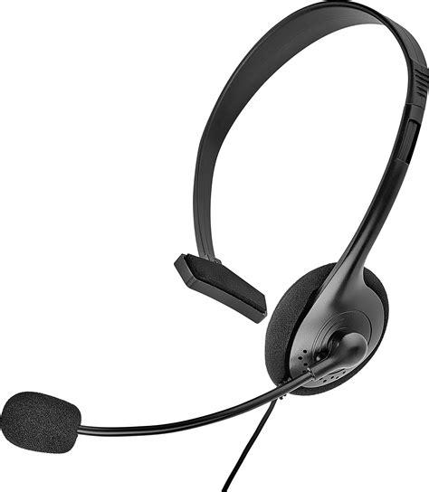 telefon mit headset telefon headset 2 5 mm klinke spezialbelegung schnurgebunden mono renkforce on ear schwarz kaufen