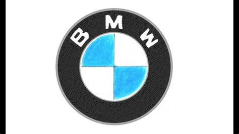 Bmw Symbols by How To Draw The Bmw Logo Symbol Emblem