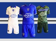 Kappa SC Bastia 1415 Kits Released Footy Headlines
