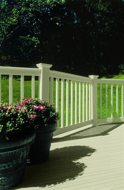 certainteed evernew vinyl railing systems