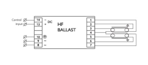 Tridonic Electronic Ballast Wiring Diagram by Philips Hf Regulator 2x36 Tl D Eii 220 240v 50 60hz