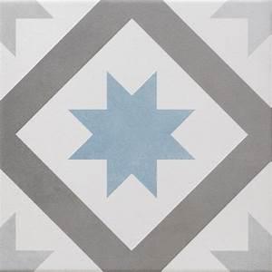 carrelage sol et mur gris fonce bleu baltique effet ciment With carrelage sol bleu