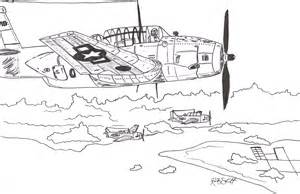 WW2 Plane Drawings
