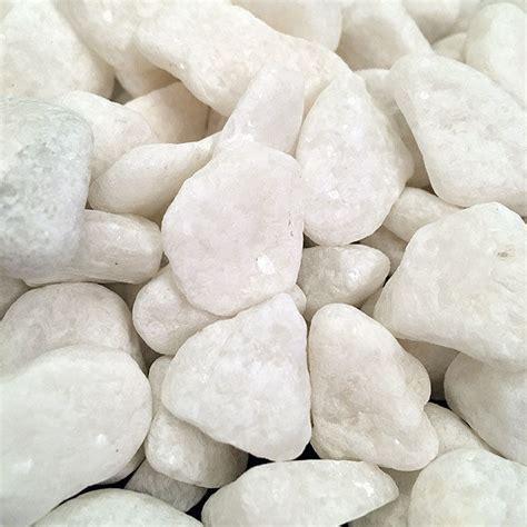 Garden Decoration Pebbles by 1kg White Decorative Stones For Vases Pebbles