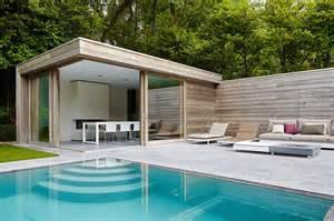 home interior door modern poolhouse in padoek bogarden